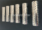 Carbon Steel Stainless Steel Spiral Perforated Tube For Petrol Sand Control Pipe