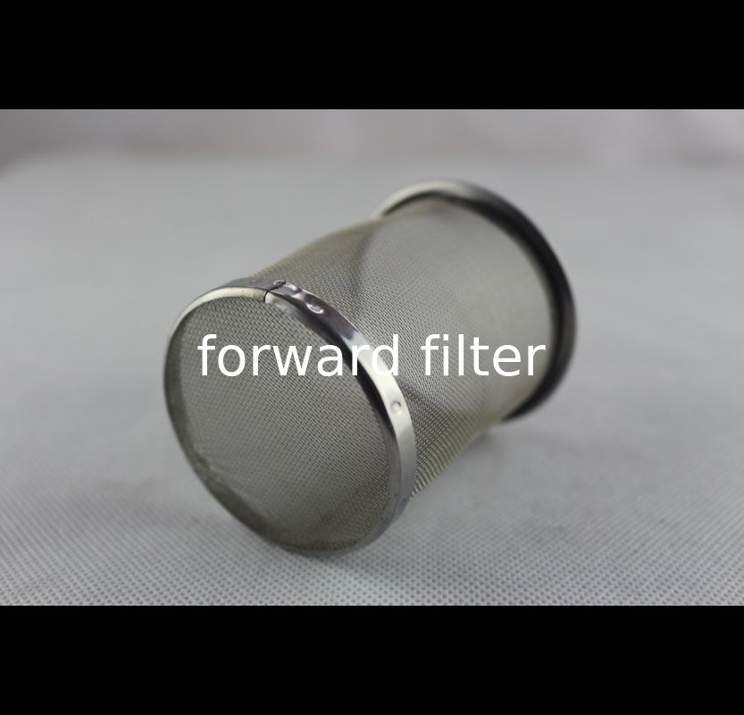 304 316 Stainless Steel Filter Tube Thickness 0.2mm -15mm Corrosion Resistance