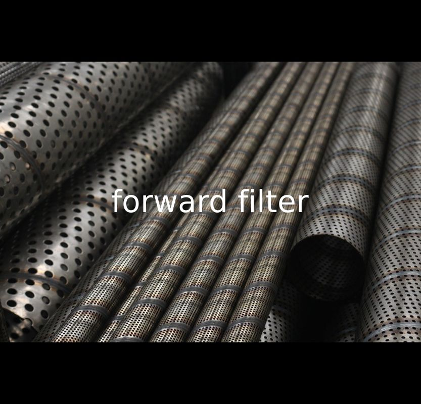Custom Length Perforated Steel Pipe With Round Hole Pattern ISO9001 Approved