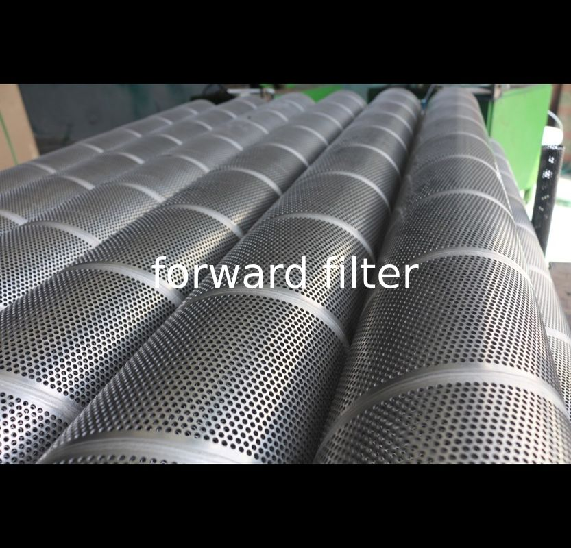 Durable Perforated Stainless Steel Cylinder , Hole 1mm- 50mm Perforated Metal Tube