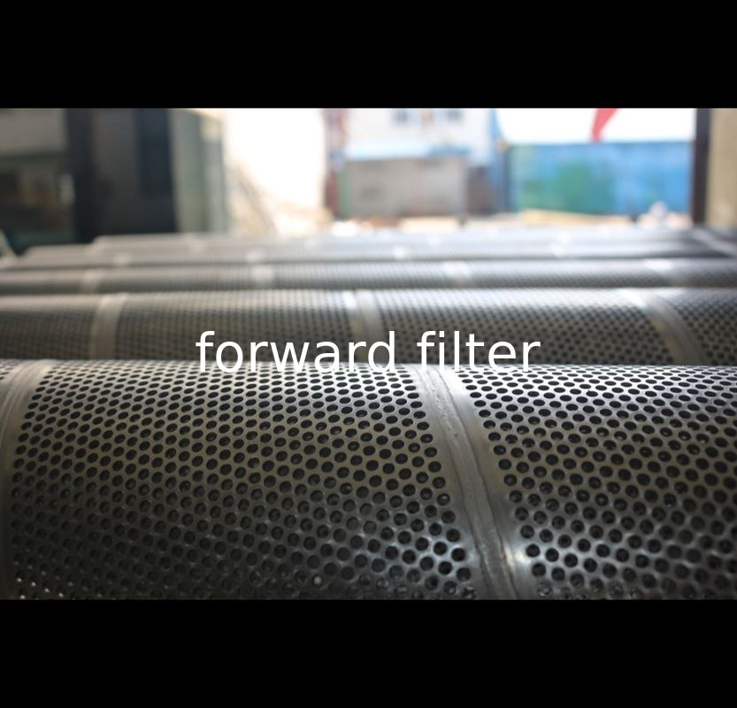Hole 1mm- 50mm Stainless Steel Filter Tube Easy Installation For Chemical Industry