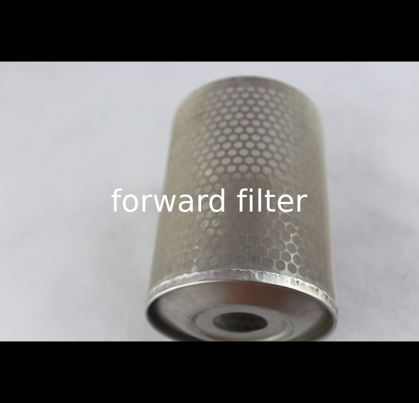 Cylinder Perforated Exhaust Tubing Wire Mesh Cover Stainless Steel Textile