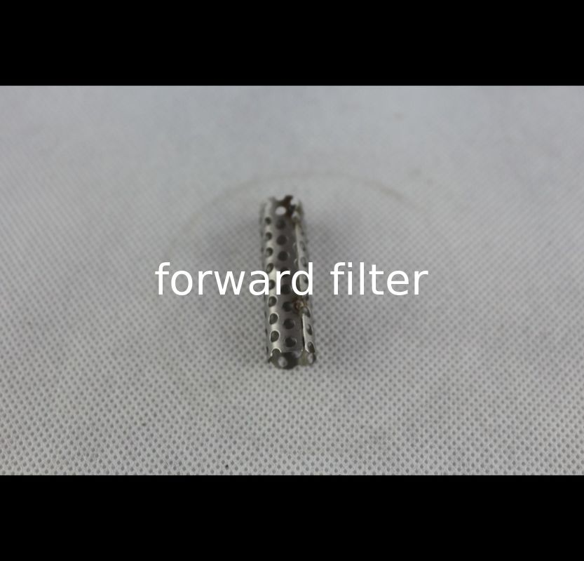 Instrument Filter Perforated Exhaust Tubing Thickness 0.2mm-50mm 304 316