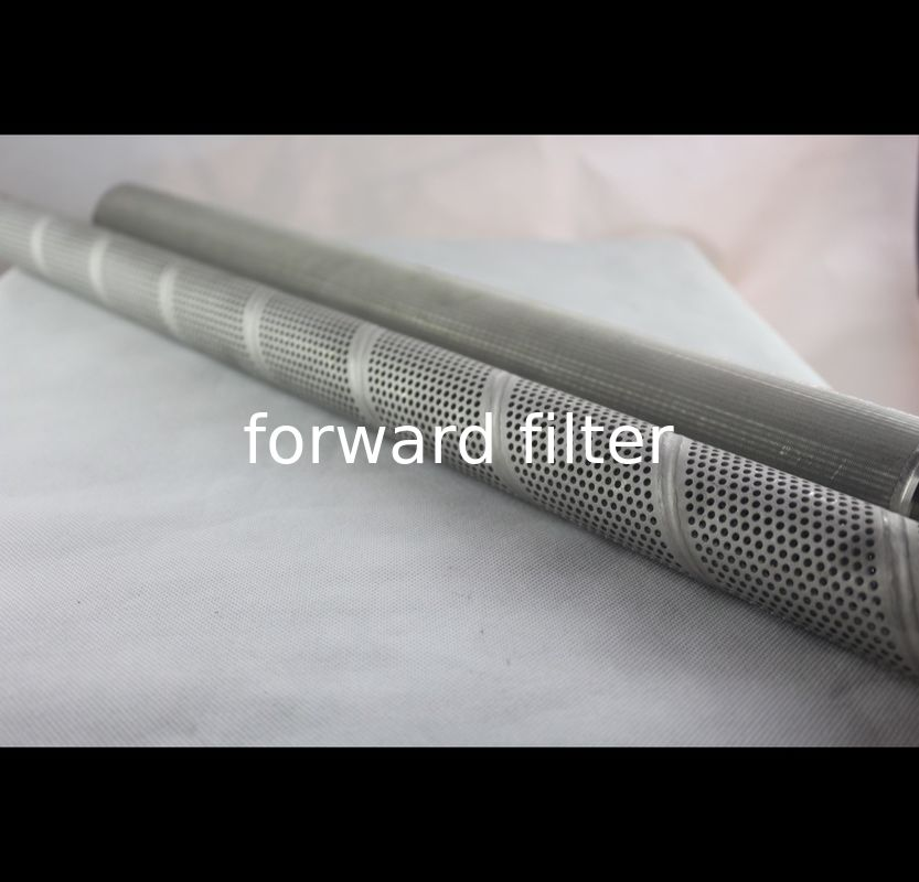 Industrial Perforated Exhaust Tubing Support Cores Wire Mesh Screens Seamless