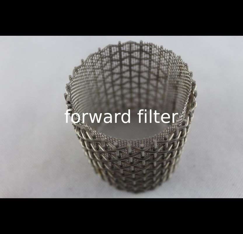 Custom Length Perforated Exhaust Pipe Square Hole With Precise Open Rate